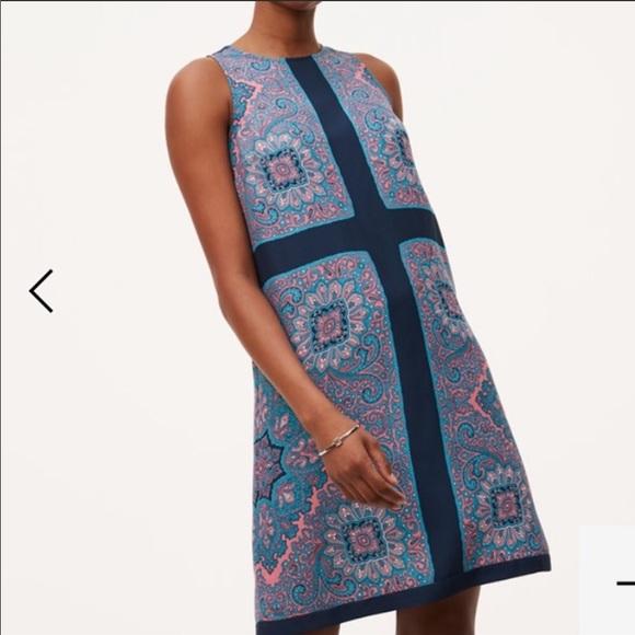 LOFT Dresses & Skirts - Loft paisley shift dress